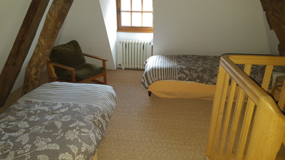 Manoir Du Bocage Room with Single Beds